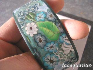 sea garden cuff bracelet