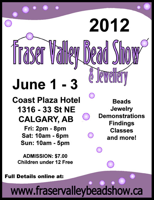 fraser valley bead show